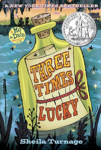 Cover image of the book, Three Times Lucky.