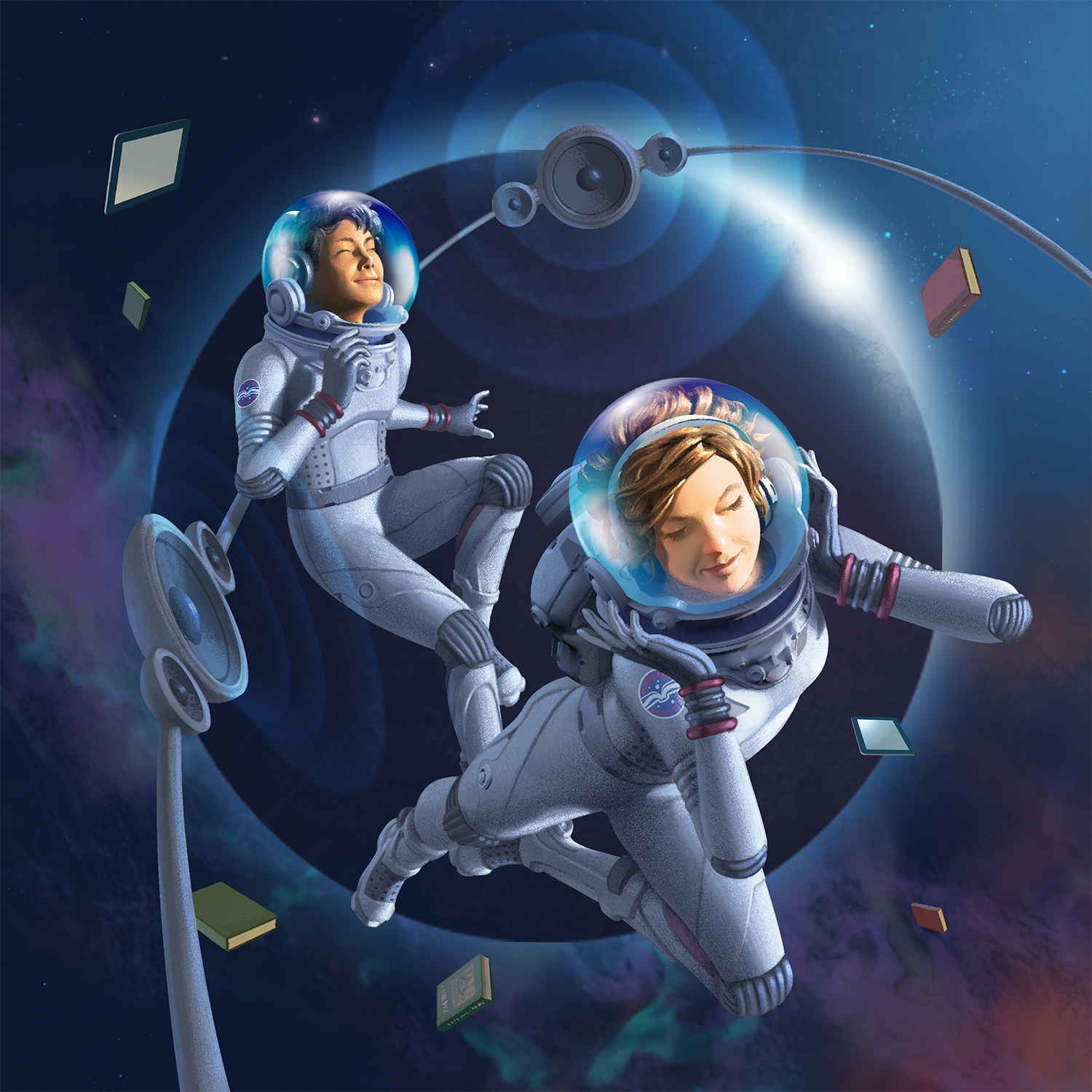 teens in space