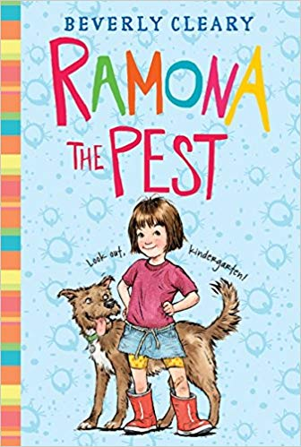 Book cover of Ramona The Pest