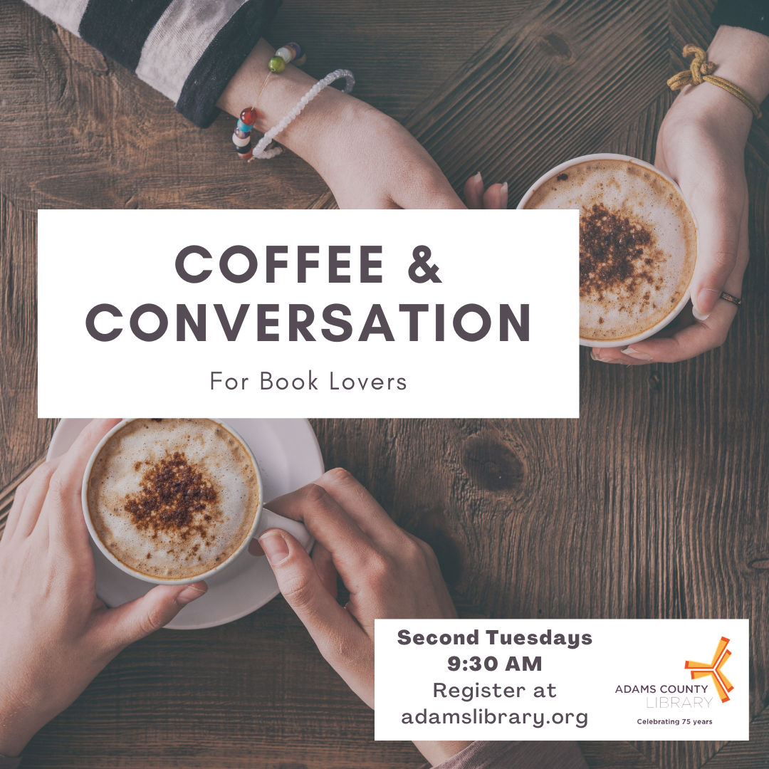coffee and conversation for book lovers