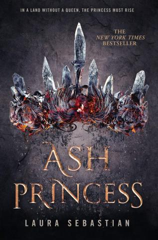 Cover image of the book Ash Princess by Laura Sebastian.