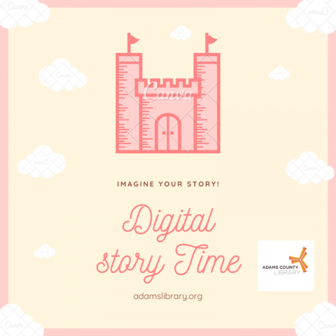 Image of flier for virtual storytime