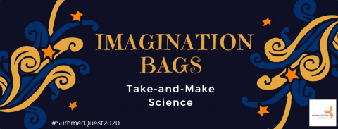 Imagination Bags: Take-and-Make Science during #SummerQuest2020 at the Adams County Library System.