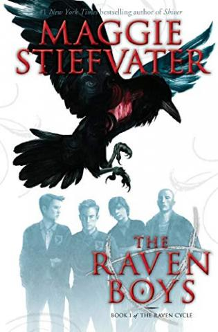 The cover image of The Raven Boys by Maggie Stiefvater